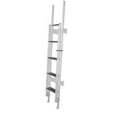 CTA 9 STEP WHITE FOLDING LADDER